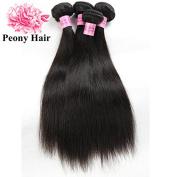 Peony Hair 8A Grade Brazilian Virgin Hair Straight Remy Hair 4 Bundles Remy Human Hair Weaves Natural Black