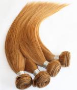 YAMI Blonde Brazilian Straight 3 pcs lot human hair weave Brazilian virgin hair Silky straight 300g Hair extensions 27#
