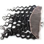 Loose Deep Wave Lace Frontal Ear to Ear 13X4 Frontal Closure With Baby Hair and Natural Hairline
