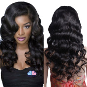 Mike & Mary Lace Front Human Hair Wigs for Black Women Body Wave Top 7A Virgin Brazilian Hair Wigs Free Part with Baby Hair