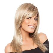 Styler Long Curly Human Hair Wigs with Bangs - High Quality Health Care in Daily Use