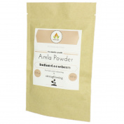 Botanical Pure Amla (Gooseberry) Powder for Hair I 100ml I All Natural, very Potent Nourishing Powdered Herb for Healthy & Shiny Hair I Enhances, Conditions & for Cooler Hair Colour Tones