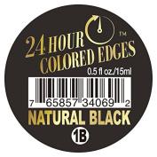 Ebin 24 Hour Coloured Edges .150ml Natural Black