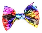 Women's Marialia Metallic Rainbow Mermaid Bow Clip
