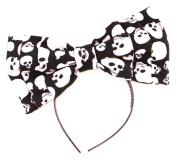 Women's Marialia Skull Print Bow