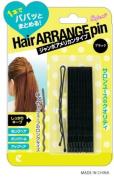 LUCKY TRENDY Metal Hair Pin Long, Black/ Blue, 0.2kg