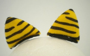 TIGER EAR HAIR CLIPS (PAIR)