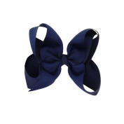 Hairpin,Elevin(TM) Baby Kids Girl Cloth Candy Bowknot Hairpin Elastic Headdress