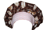 Medical Scrub Cap Surgical Scrub Hat Chef Nurse Bouffant Cappucino Coffee Lovers