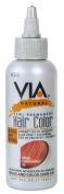 VIA NATURAL SEMI-PERMANENT HAIR colour RINSE with ALOE VERA 120ml