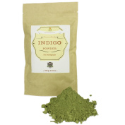 Pure & Natural Indigo Powder for Hair (100ml) I Ecologically Produced & Harvested Herb with High Grade Natural Dye to get Black Hair for Both Men & Women