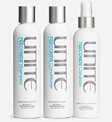 Unite 7Seconds Leave in Detangler 240ml with Shampoo 240ml & Conditoner 240ml