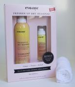 Eva NYC Freshen Up Dry Shampoo, 160ml and 30ml Bonus Travel Size with FREE washcloth included!