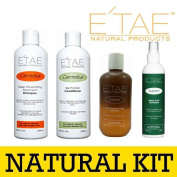 Etae Carmelux Shampoo Conditioner E'tae Carmel Treatment Nutrient Scalp Replenisher Combo Kit Natural Products