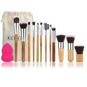 RUIMIO 12 Pieces Makeup Brush Set Professional