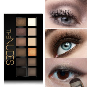 KIMSUSE Eye Shadow Palette for Eyebrows Makeup Set The Nudes Eyeshadow Palette Maquiagem