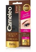Delia Cameleo Professional Quality Eyebrow & Eyelashes Kit - Brown Colour - No Ammonia