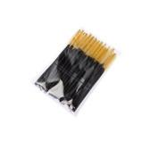 JXULE Disposable Eyelash Makeup Brush Mascara Wands Curel Lash Extension Spooler Applicators