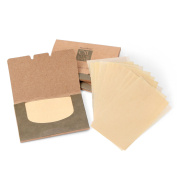 Premium Natural Flax Blotting Paper 300 Sheets Portable Oil Control Clear Paper.Professional Papers for Removing Facial Oil and Saving Makeup on Face