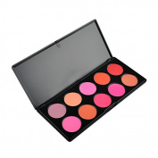 Professional 10 Colours Blusher Palette Makeup Powder Blush Palette
