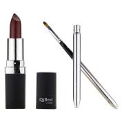 DDLBiz® Waterproof Long Lasting Vampire Style Lipstick Lip Gloss with Mini Lipbrush