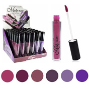 Set of 6 Colours Madly MATTE Lipgloss Bold & Vivid Colour Matte Lipgloss Set #7