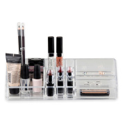 Home Basics® Cosmetic Organiser in Clear