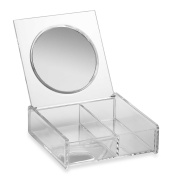 Home Basics® Cosmetic Box with Mirror