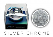 Aora Silver Chrome Nails Pigment