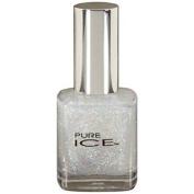 Bari Pure Ice Nail Polish, #543 Don't You Wish (White Glitter) .150ml