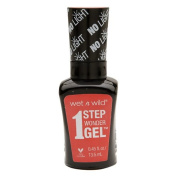 Wet n Wild 1 Step Wonder Gel Nail Colour, Coral Support 15ml
