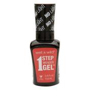 Wet n Wild 1 Step Wonder Gel Nail Colour, Coral Support 15ml