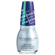 SinfulColors Kylie Jenner Denim & Bling Collection, Acid Wash (Blue Pearl) 15ml