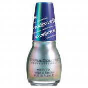 SinfulColors Kylie Jenner Denim & Bling Collection, Kleopatra (Green Iridescent Pearl) 15ml
