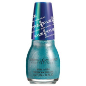SinfulColors Kylie Jenner Denim & Bling Collection, Kustom Fit (Teal Blue Metallic) 15ml
