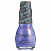 SinfulColors Kylie Jenner Trend MATTErs Collection Pure Satin Mattes, Purple Kraze (Purple) 15ml