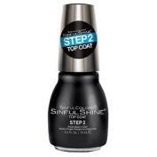 SinfulColors SinfulShine Step 2 Top Coat Nail Colour, Clear 15ml