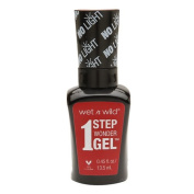 Wet n Wild 1 Step Wonder Gel Nail Colour, Crime of Passion 15ml