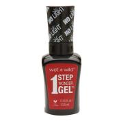 Wet n Wild 1 Step Wonder Gel Nail Colour, Crime of Passion 15ml