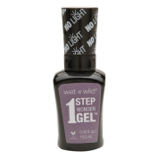 Wet n Wild 1 Step Wonder Gel Nail Colour, Lavender Out Loud 15ml