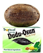 DUDU OSUN Black Soap 150 g African Soap Shea moisture Noir Honey Cocoa Aloe