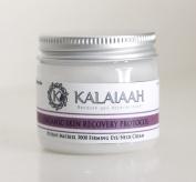 Kalaiaah Organic & Natural Potent Matrixyl 3000 Firming Eye/Neck Creme with Retinol, Peptides, Glycolic Acid, Botanicals, VItamins & Pure Plant Oils to build new Collagen