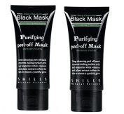 Shills Deep Cleansing Black MASK purifying peel-off mask.