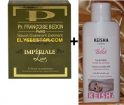 Pr.Bedon Imperiale Luxe AntiAge Scrubbing Exfoliating Skin Lightening Soap 200G +750ml Black