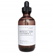 Matrixyl 3000 + Vitamin C Serum with Organic Hyaluronic Acid 120ml - Lighten Sun Damage, Ageing Lines, and Wrinkles - Beautiful Skin Protection & Restoration - Asterwood Naturals - 120ml Amber Dropper Bottle