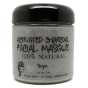 Activated Charcoal Facial Masque 120ml, Remove Toxins, Purify Skin, Best Face Mask for Clear Skin, Acne