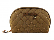 Jacki Design Outdoor Travel Bella Donna Dome Cosmetic Bag Brown