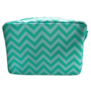 Monogrammable Chevron Make-up Women Cosmetic Tote Bag