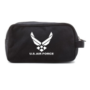 US Air Force Canvas Shower Kit Travel Toiletry Bag Case