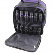 Premium 42-Bottle Essential Oil Carrying Case with Foam Insert, Shoulder Strap - Essential Oils Bag for Storing 5ml, 10ml, 15ml Oil Bottles